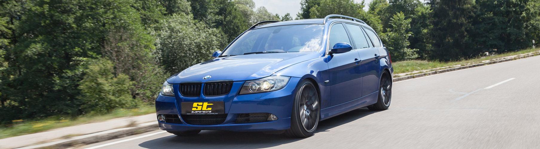 Schöner Fahren: das ST X Gewindefahrwerk im BMW E91 3er Touring