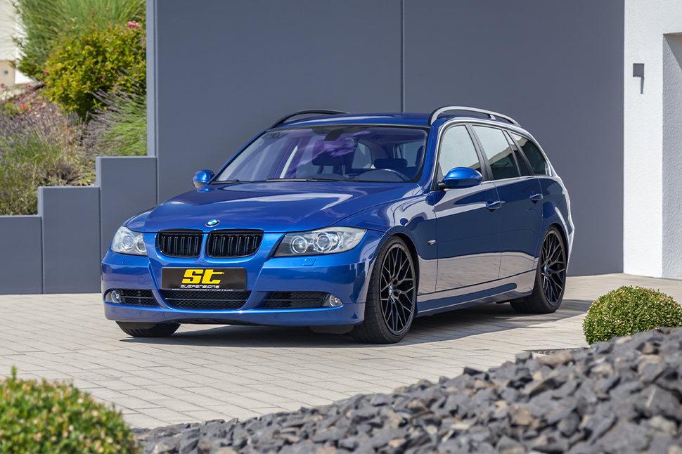 Mit dem ST X Gewindefahrwerk erhält Euer BMW 3er in allen Situationen ein deutlich sportlicheres Handling.