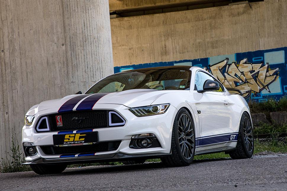 Es spielt keine Rolle, ob es sich um ein Mustang Cabrio oder um ein Mustang Coupé handelt; die ST Gewindefedern sind wie die ST Gewindefahrwerke für alle Ford Mustang Modelle der LAE-Baureihe erhältlich.