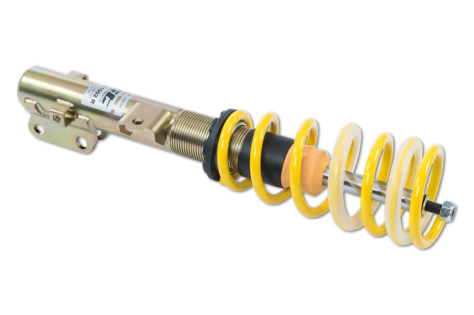 Das ST X und das ST XA Gewindefahrwerk unterscheiden sich durch die verwendete KW Dämpfertechnologie.