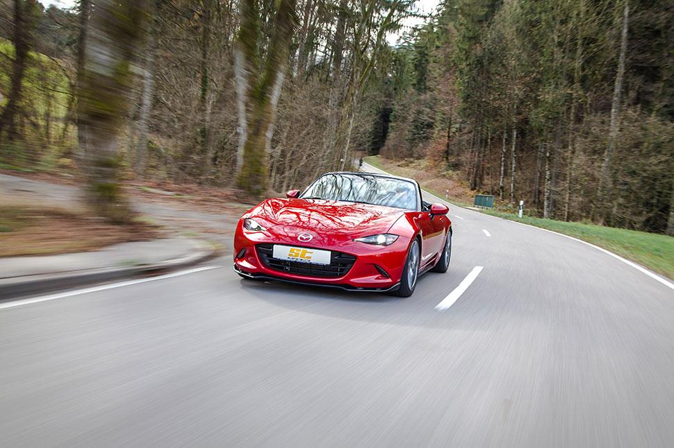 Auch für alle anderen Mazda MX-5 Modelle hat ST suspensions Gewindefahrwerke im Lieferangebot.