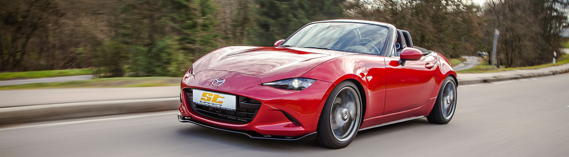 Upgrade your Joyride: Mazda MX-5 (ND) lowered with a coilover kit from ST suspensions
