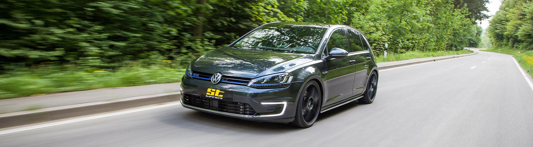 Für alle VW Golf 7 sind unsere drei ST suspensions Gewindefahrwerke ab sofort erhältlich.