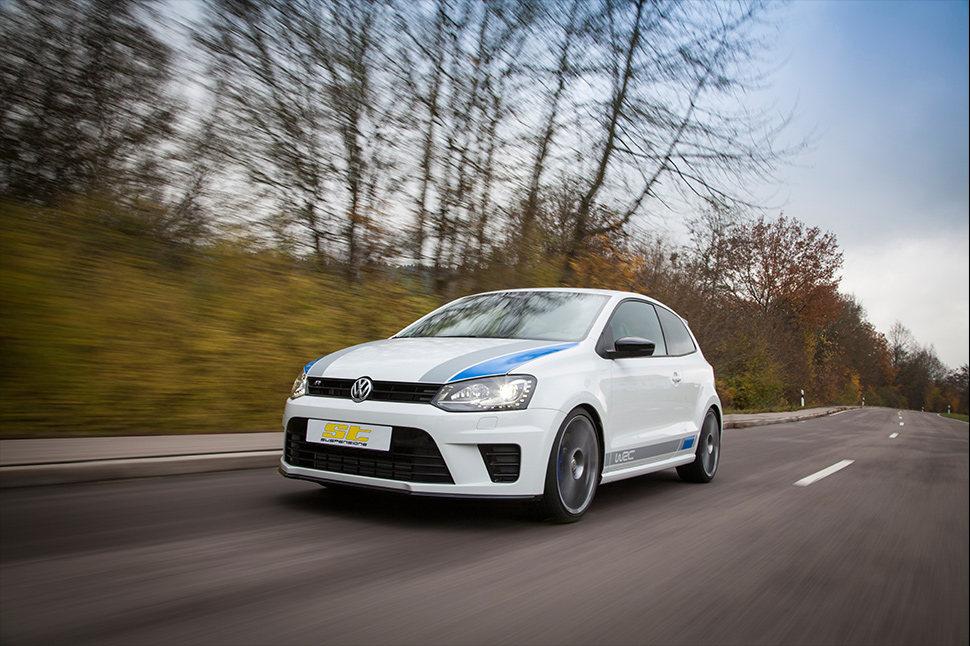Die für den Polo erhältlichen ST Gewindefahrwerke verfügen über eine bei zahlreichen Fahrversuchen und Langzeittests ermittelte Fahrwerkabstimmung.