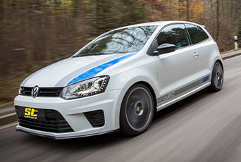 KW-Fahrwerktechnik bei ST suspensions für alle VW Polo 6R